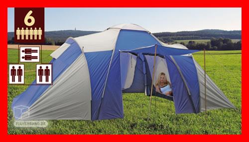 igluzelt familienzelt sechs mann zelt 6 personen camping. Black Bedroom Furniture Sets. Home Design Ideas