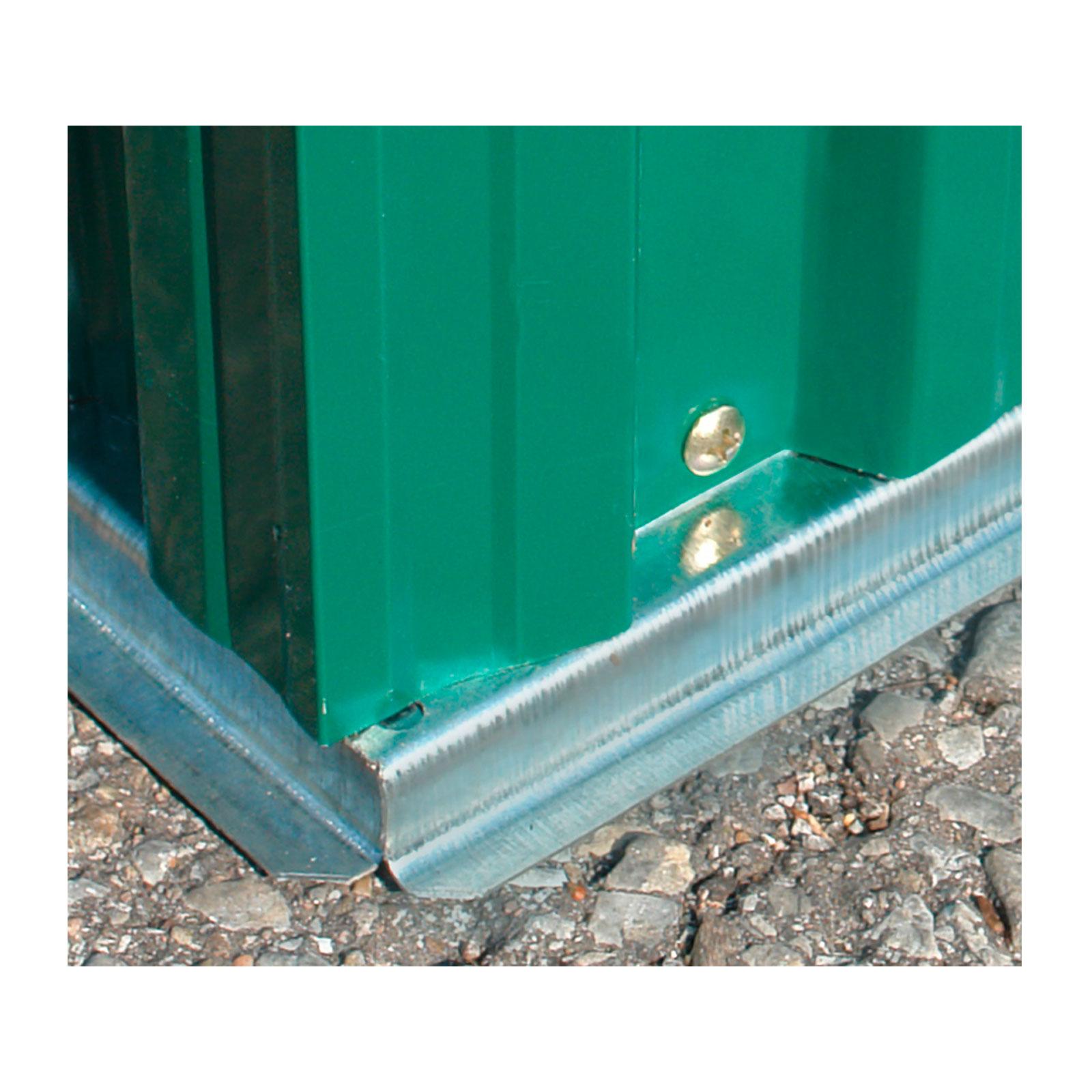 metall ger tehaus gartenhaus ger teschuppen gro stabil xxl 7 5m 917501 ebay. Black Bedroom Furniture Sets. Home Design Ideas