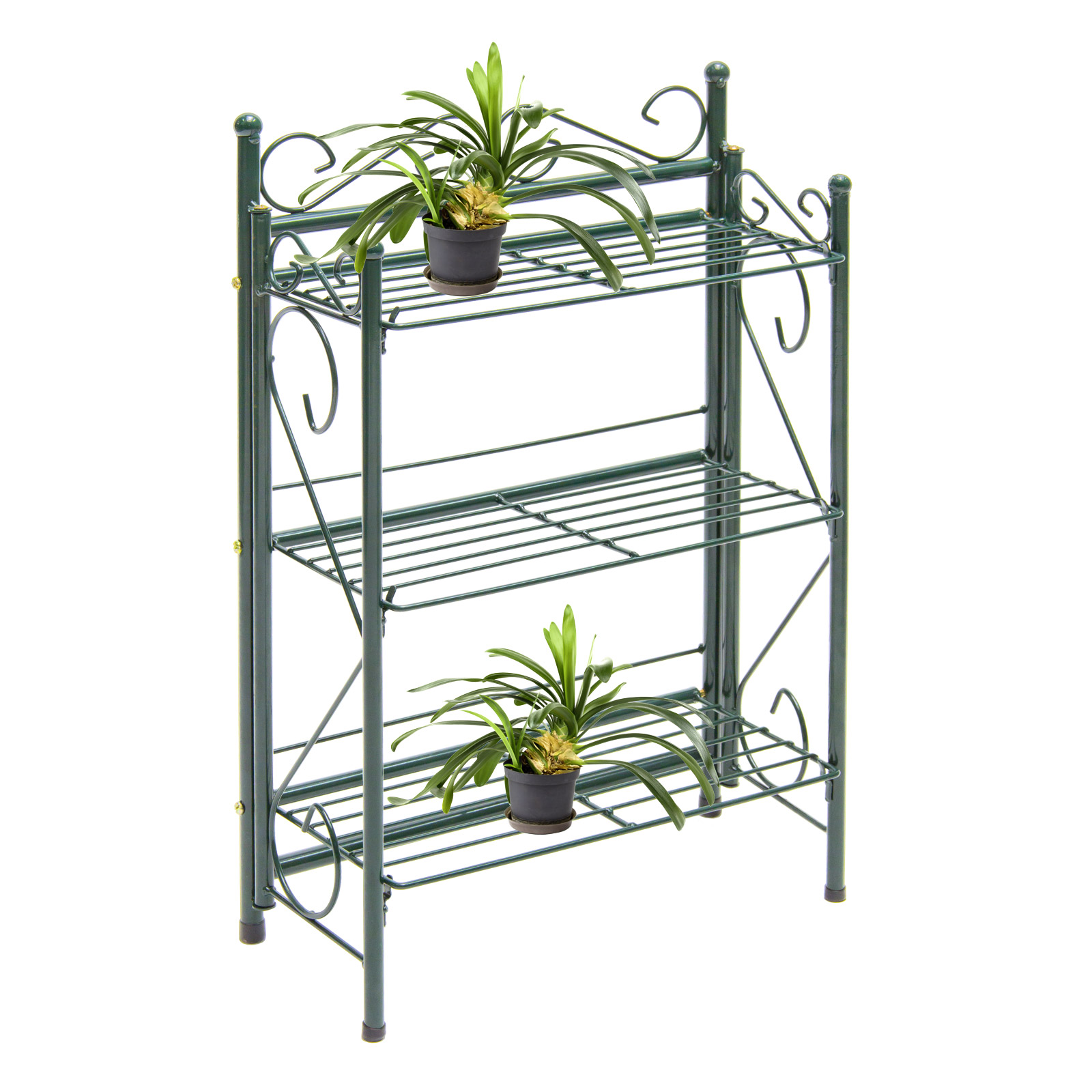 blumenregal metall 918436 regal pflanzenregal. Black Bedroom Furniture Sets. Home Design Ideas