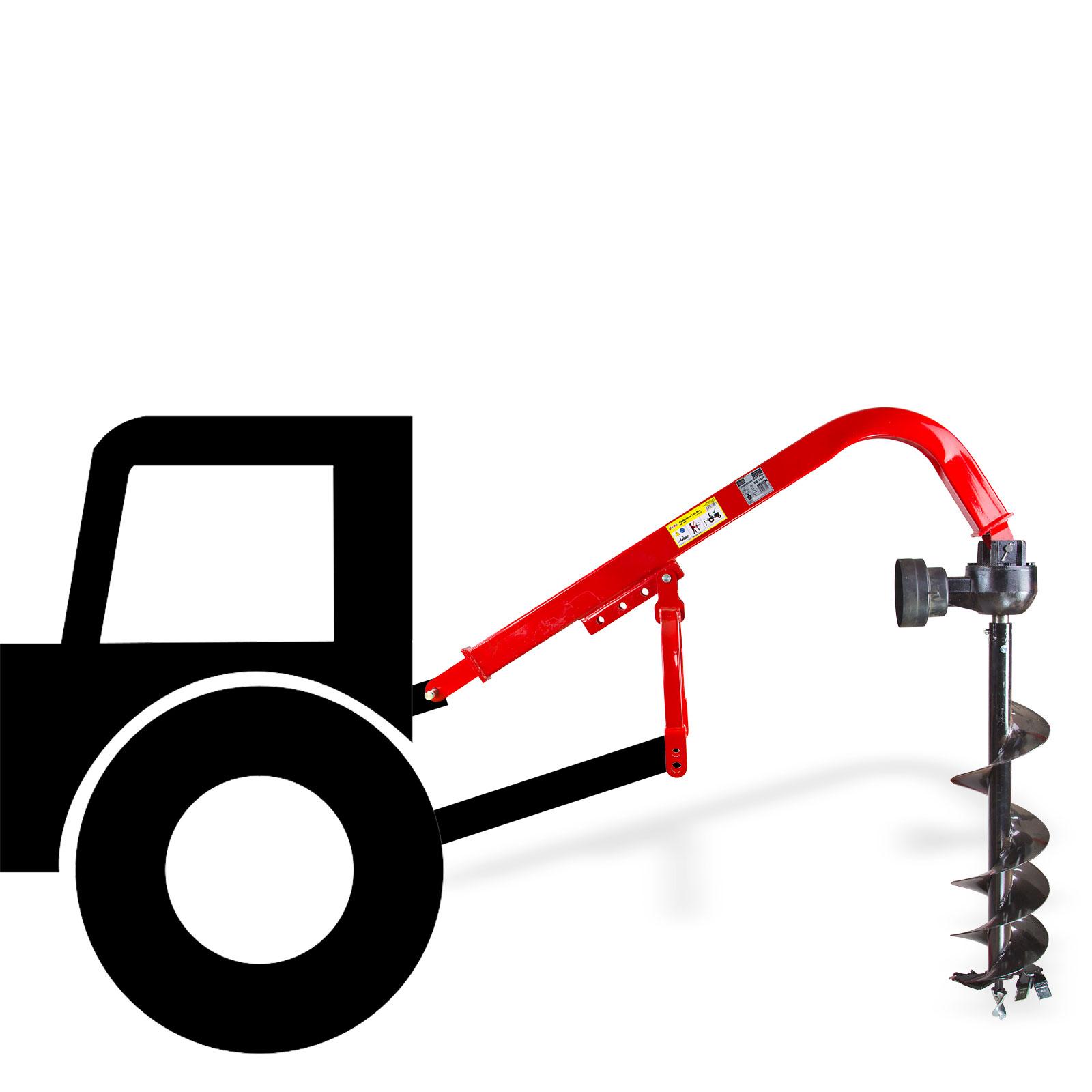 Profi-Traktor-Bohrer-Zapfwelle-Erdbohrer-Erdlochbohrer-Pfahlbohrer-30cm-KAT1-2