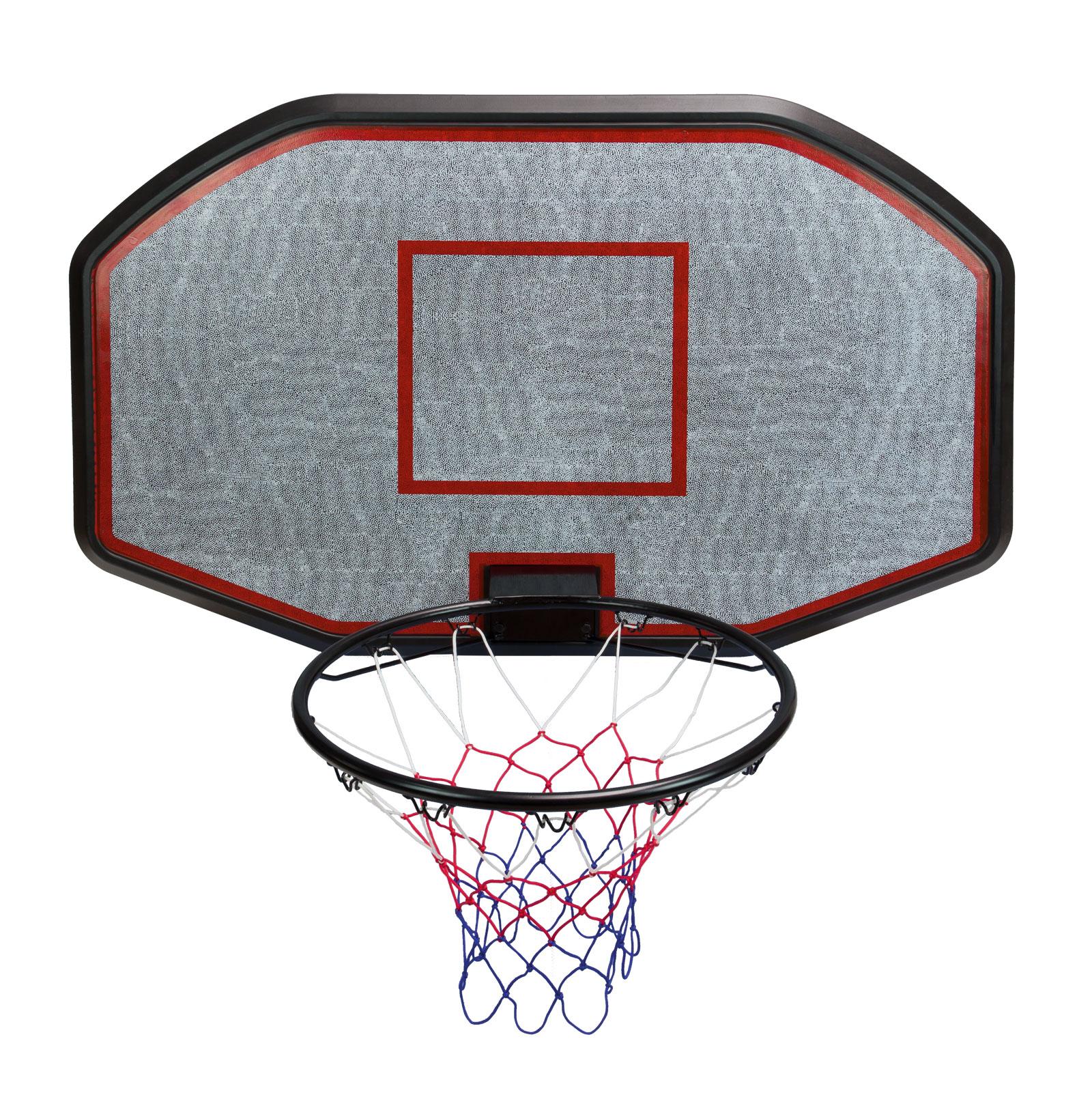 Basketballkorb XXL Streetball Brett Korb Netz Ring Metall ...