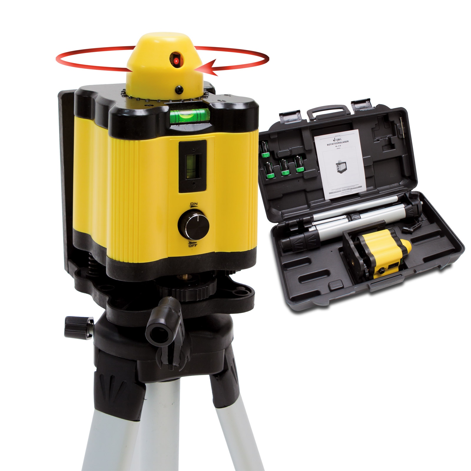 Laser Nivelliergerät Test : rotationslaser rl3e baulaser nivellierger t linienlaser rotation laser im koffer ~ Pilothousefishingboats.com Haus und Dekorationen
