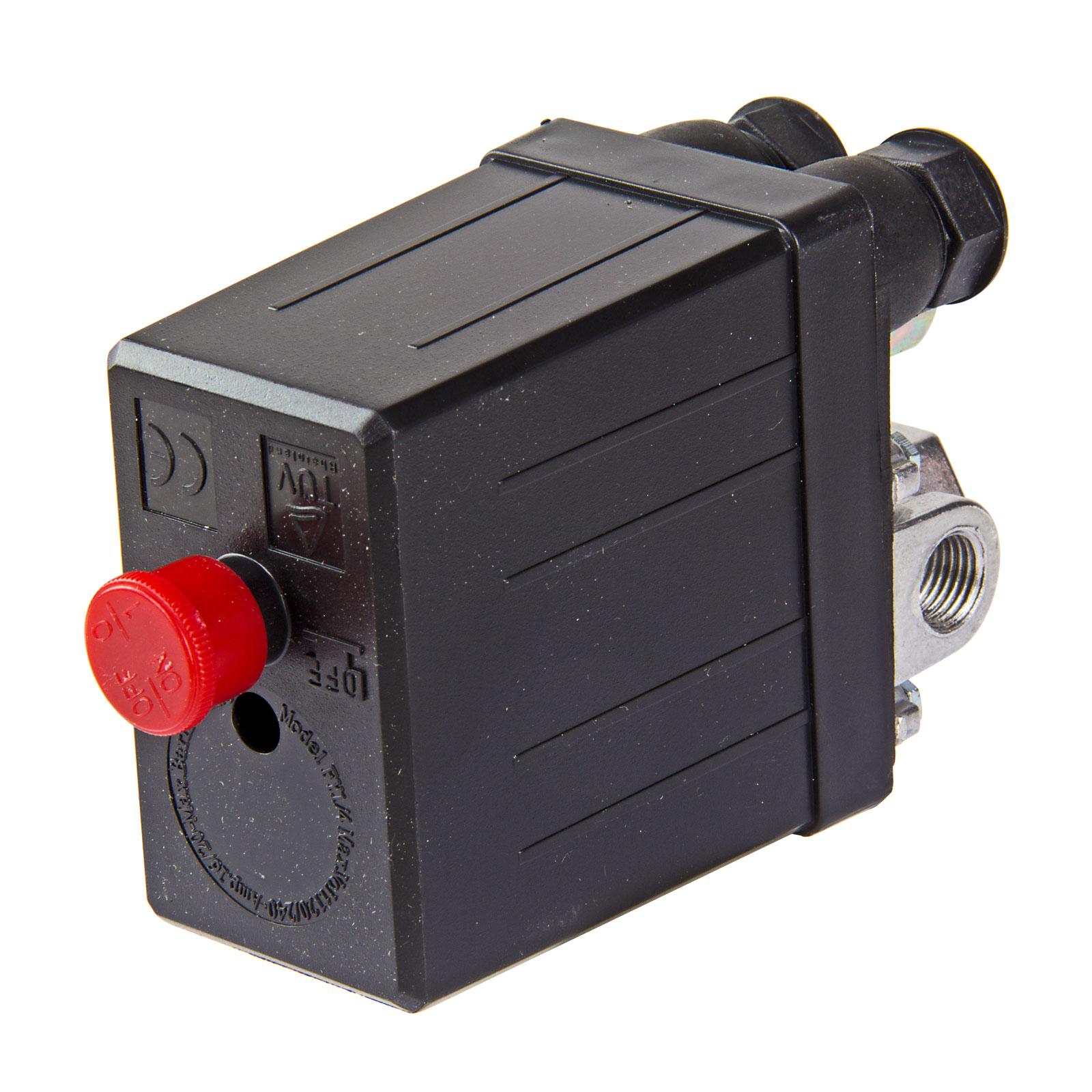 Druckschalter-Schalter-12-Bar-220-240V-fuer-Kompressor-24210-NEU-ZA24219