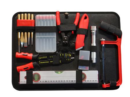 valise de d pannage 127 outils vintec outillage fournitures. Black Bedroom Furniture Sets. Home Design Ideas
