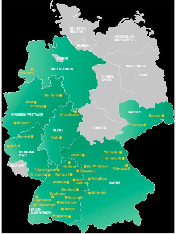 Stabilo Standorte Deutschland