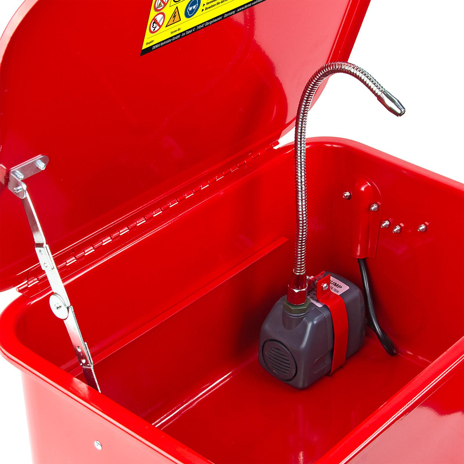 Teilewaschgerät Waschgerät 13 Liter Teilereiniger Teilewascher Reinigung 913949